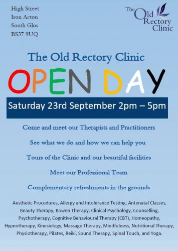Old Rectory Clinic Open Day